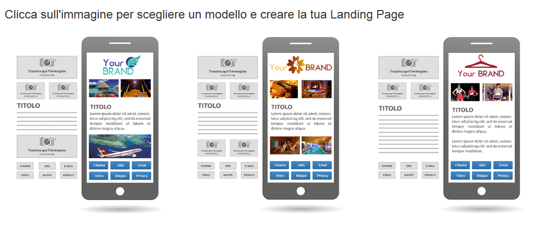 Landing Page Sms